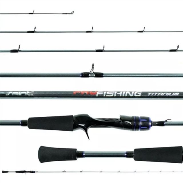 Vara Saint Pro Fishing Titanium 562 1,68m 6-14 Lbs Carretilha