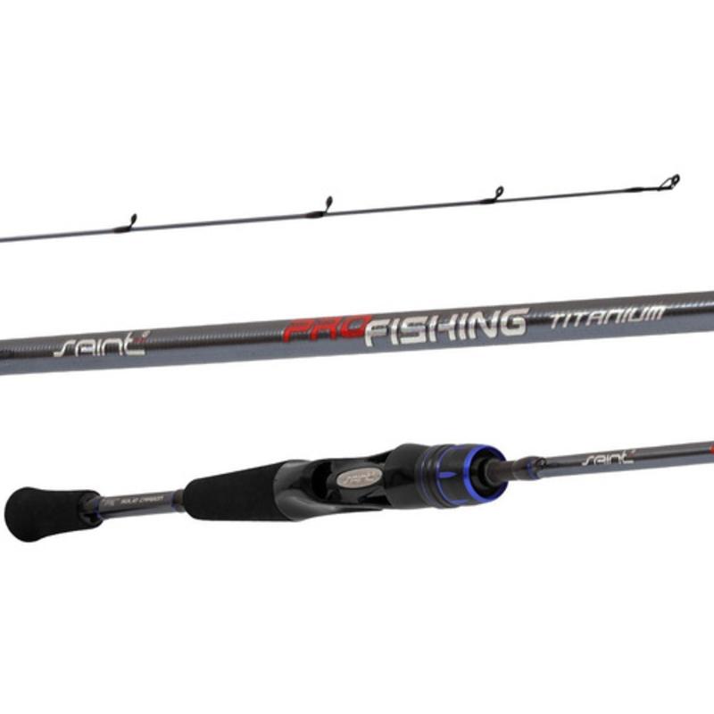 Vara Saint Pro Fishing Titanium 562 1,68m 6-14 Lbs Carretilha  - Pesca Adventure