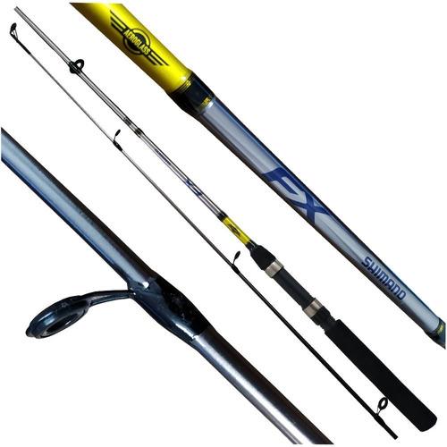 Vara Shimano Fx 662 (1,98m) 6-14lb Molinete 2 Partes  - Pesca Adventure