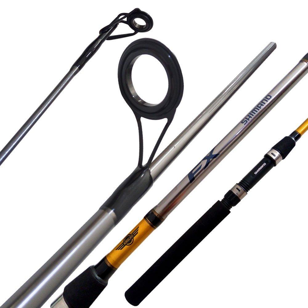 Vara Shimano Fx 662 (1,98m) 8-17lb Molinete 2 Partes  - Pesca Adventure