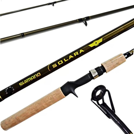 Vara Shimano Solara 662 1,98m 10-20lb 2 Partes Para Carretilha  - Pesca Adventure