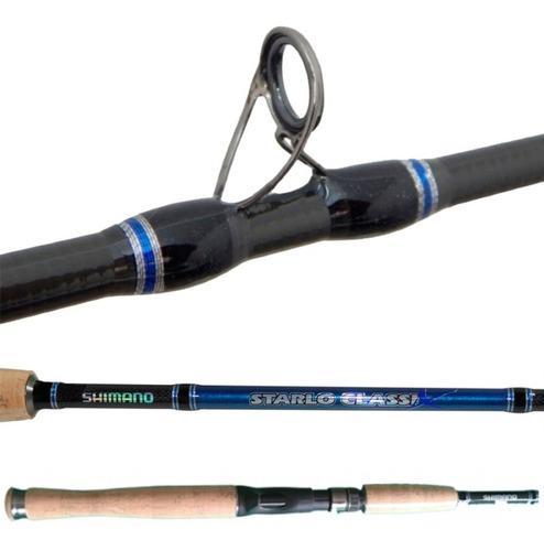 Vara Shimano Starlo Classix 582 Bruiser (1,73m) 10-17 lbs Carretilha 2 Partes  - Pesca Adventure