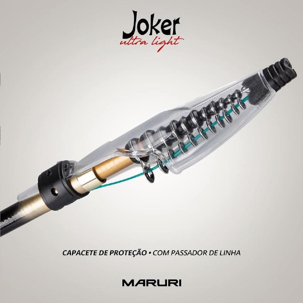 Vara Telescópica Para Molinete Joker Spin 8