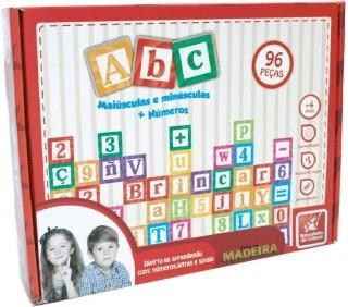 ABC- Feito em madeira
