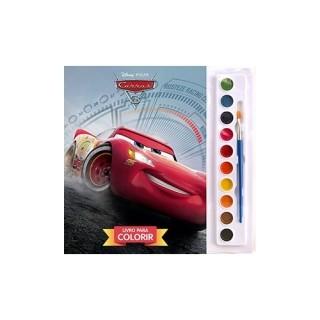 Disney . Pixar carros 3-  livro para colorir