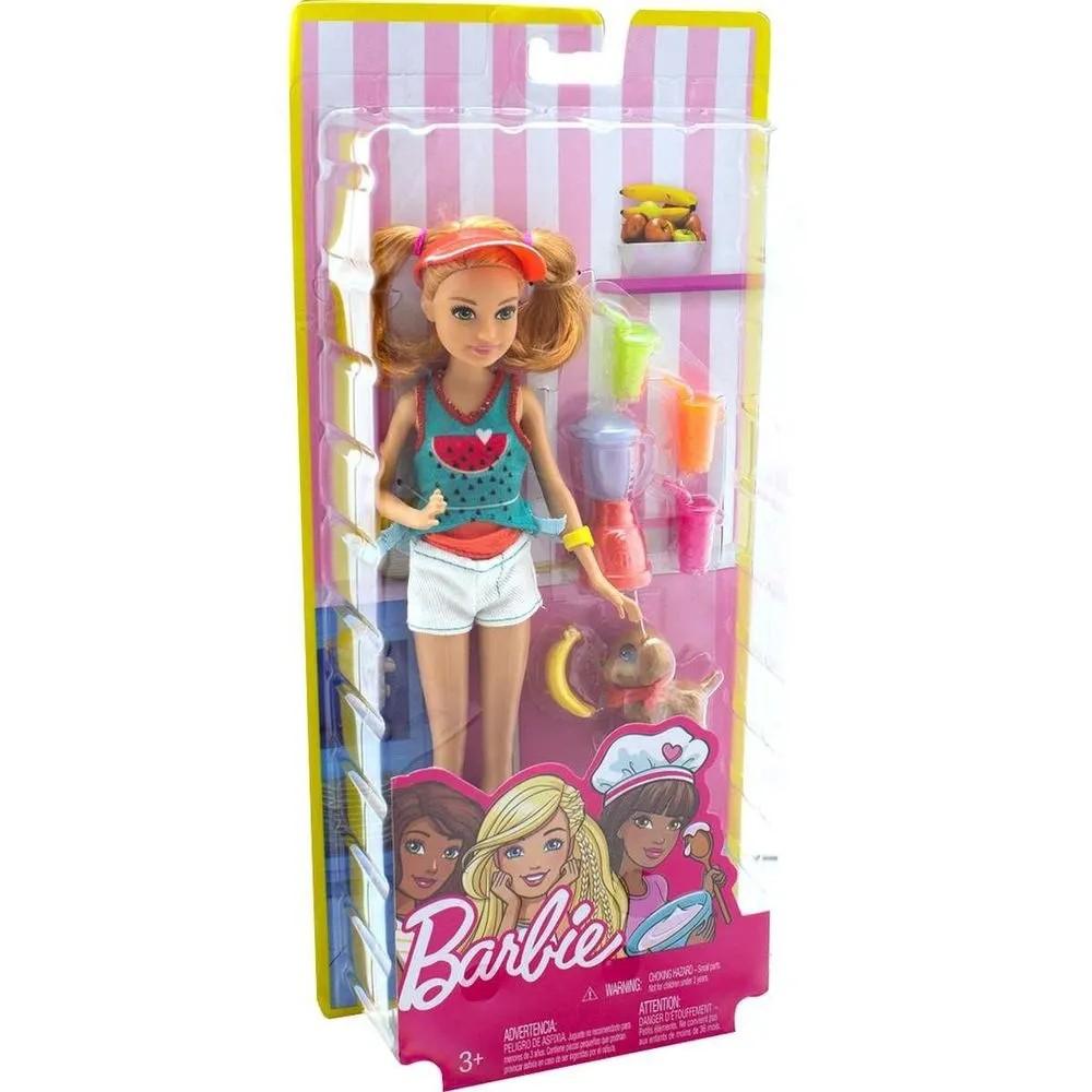 Barbie Cozinhando E Criando Barbie E Irmas - Mattel