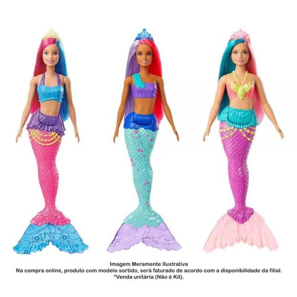Barbie Dreamtopia- sereia