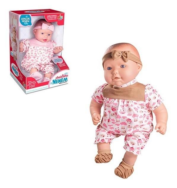 Boneca Baby Mariah Cheirinho De Neném
