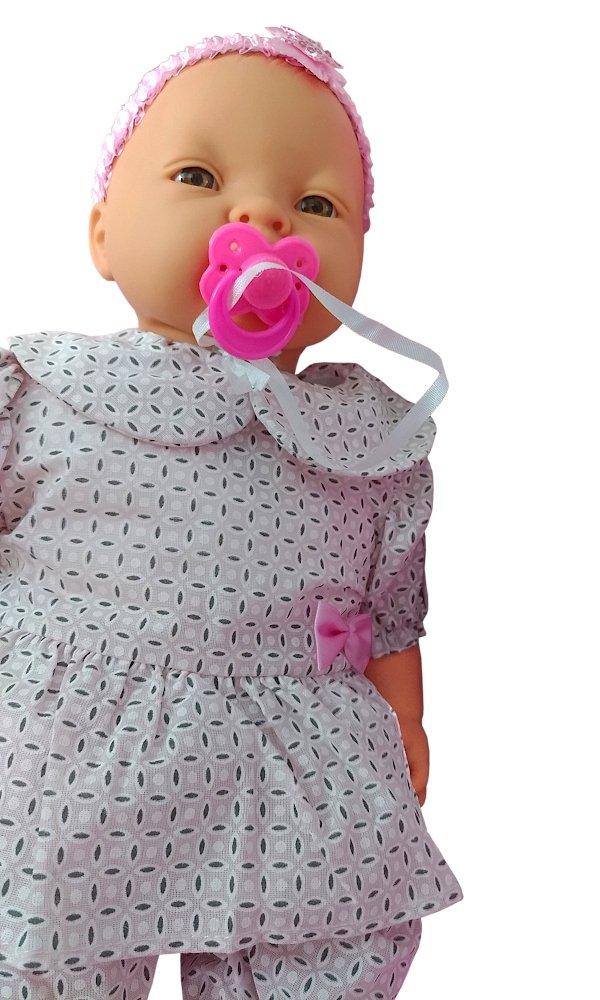 Boneca Bebê Primeiro Aninho