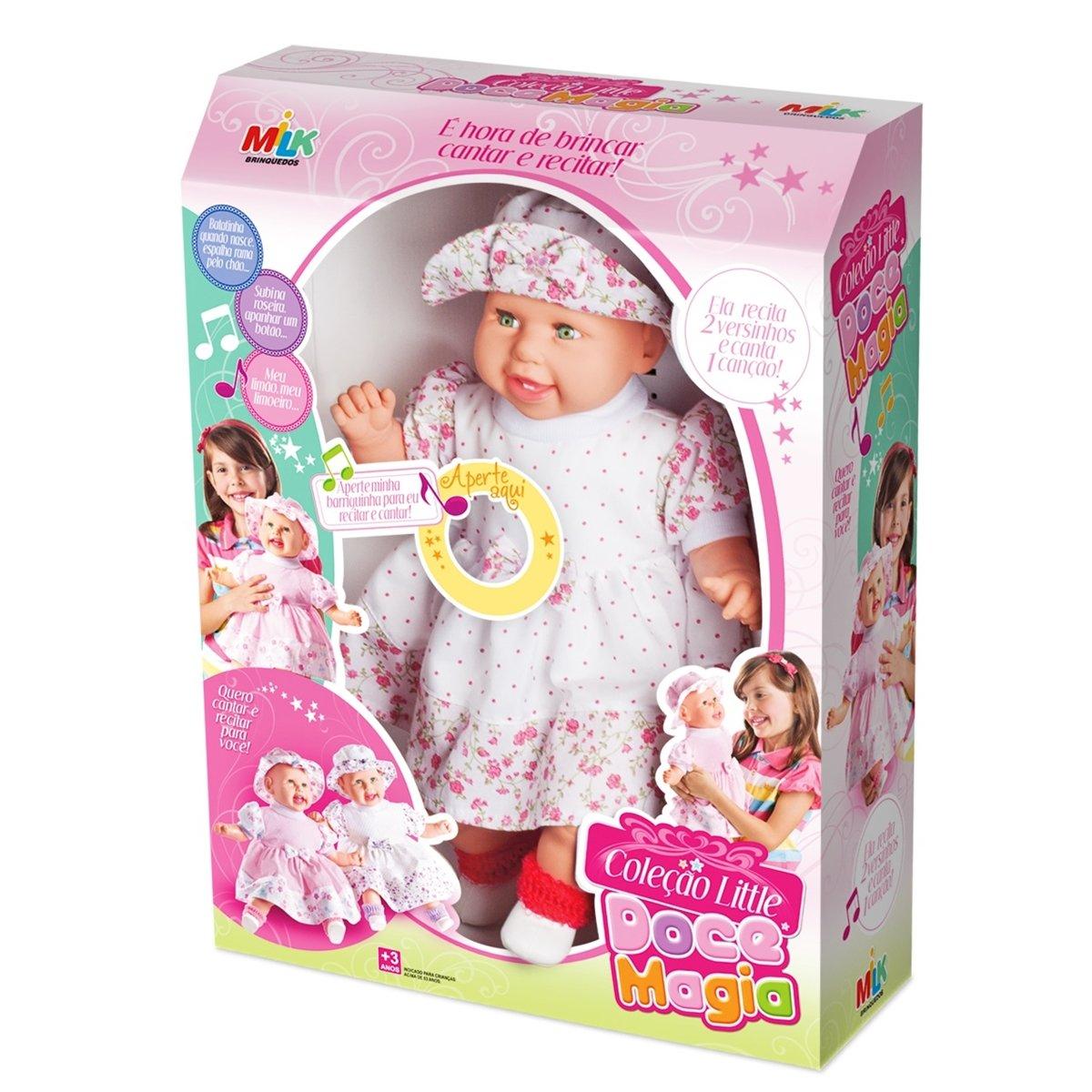 Boneca Infantil Little Doce Magia
