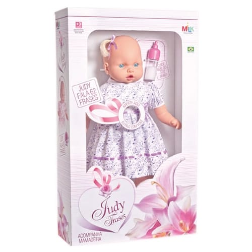 Boneca Judy Baby Fala 62 Frases