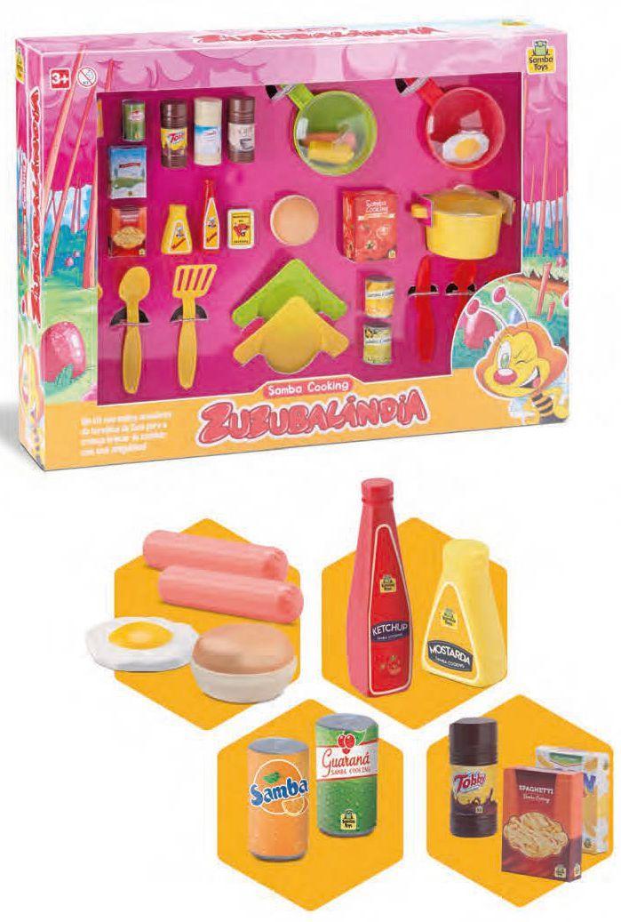 Comidinhas Panelinha De Brinquedo - Zuzubalândia