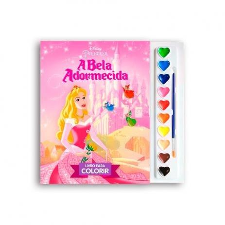 Disney A Bela Adormecida-b livro para colorir
