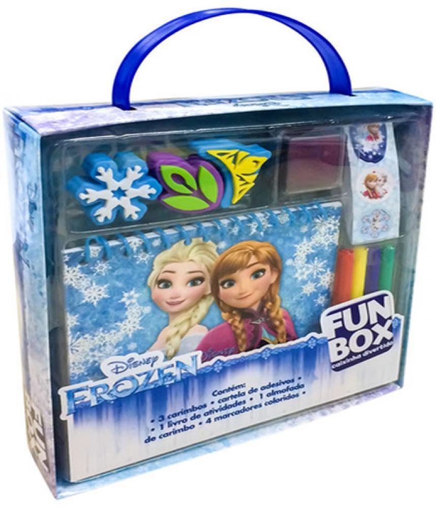 Disney- Frozen Fun Box caixinha divertida