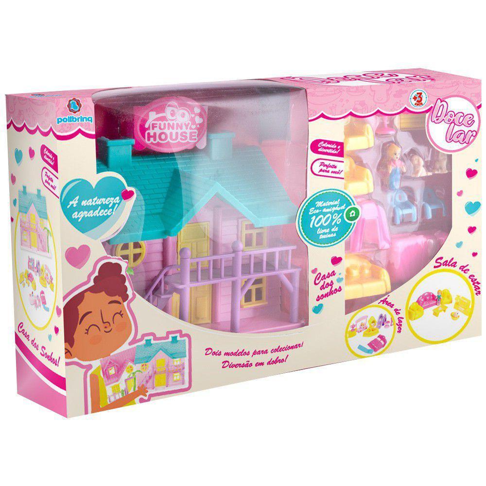 Doce lar- casinha de bonecas