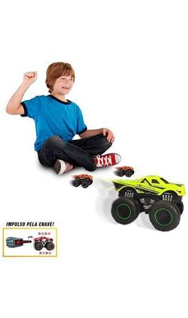 Key Launcher - carrinho de brinquedo