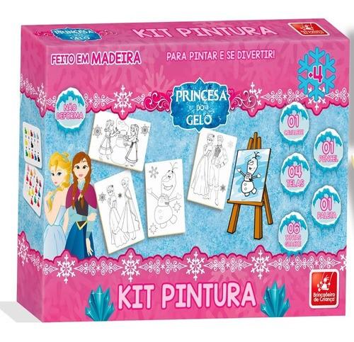 Kit de Pintura- Princesa do Gelo