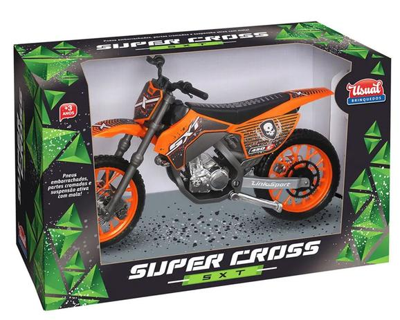 Moto Miniatura Super Cross SXT