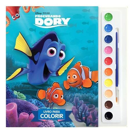 Procurando Dory- Livro para colorir
