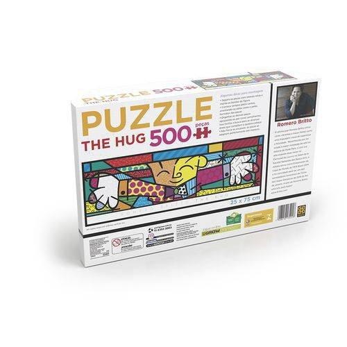 Puzzle 500 peças Panorama Romero Britto The Hug