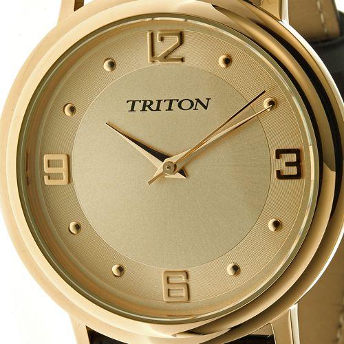 2d73a74fa74 Relógio Triton LINHA LINHA GOLD MTX222 - Lojas Miriam