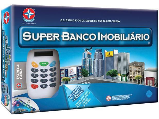 Super Banco Imobiliário Tabuleiro - Estrela