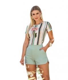 blusa T-Shirt Listras