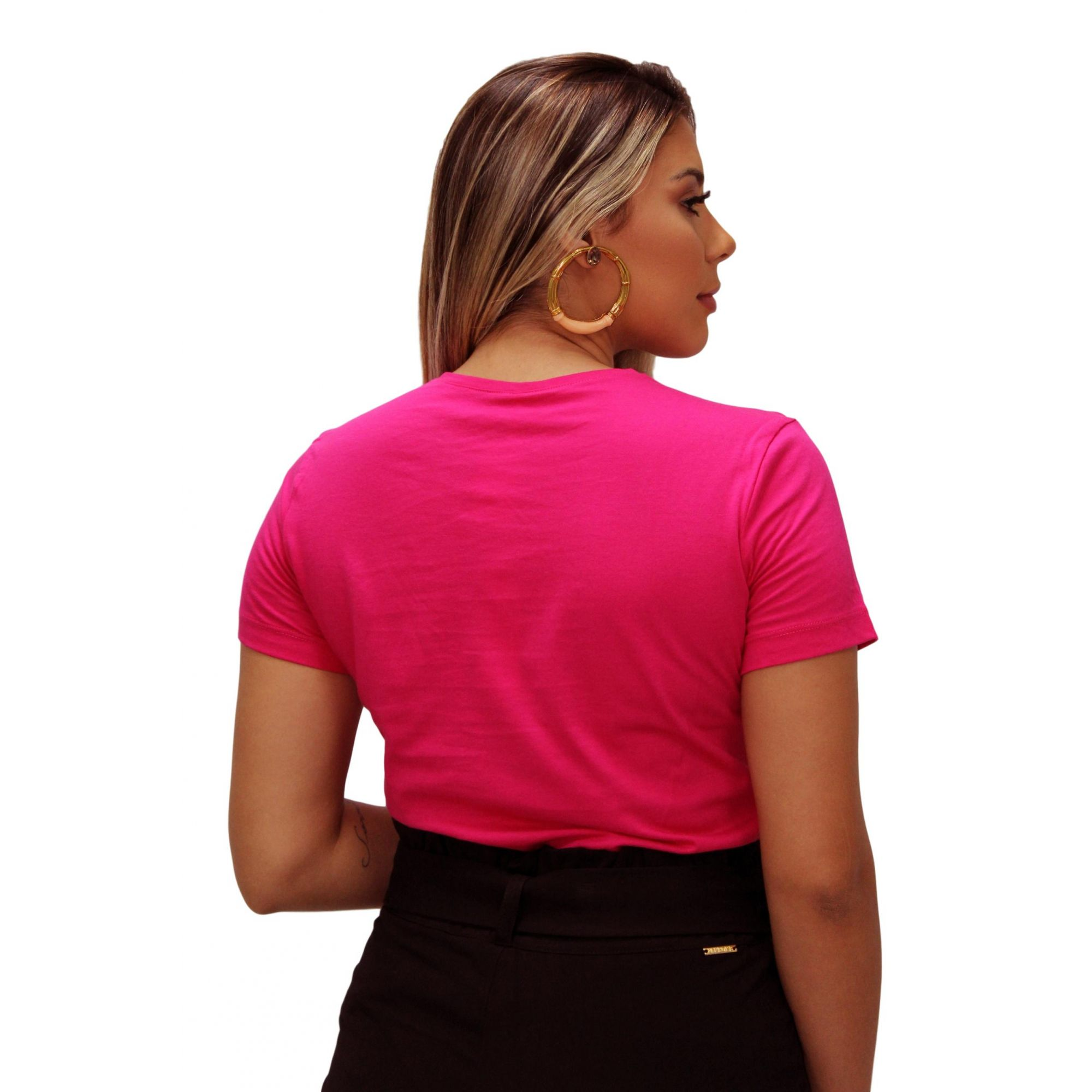Blusa T-Shirt Baby Look