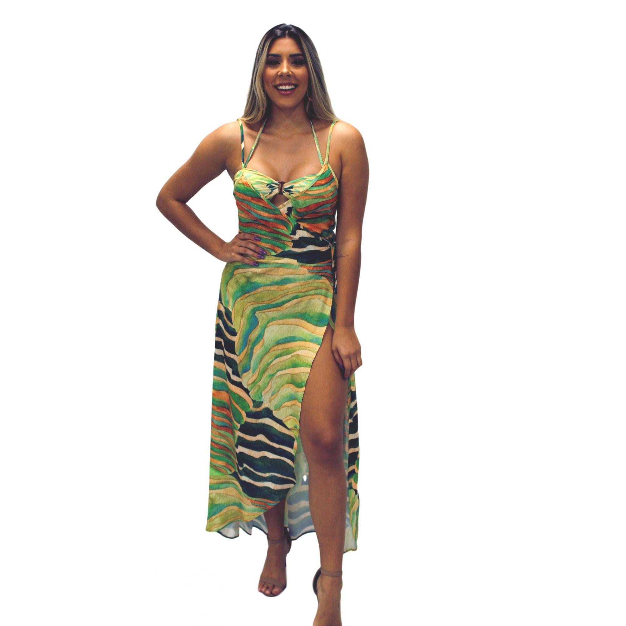 Conjunto Resort Vestido Biquíni