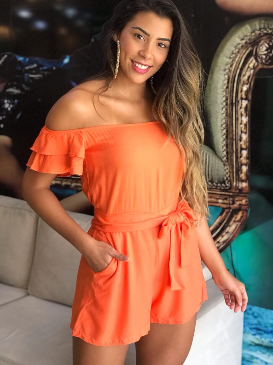 d8bccfdb0 Macacão Curto - VANKOKE - Moda Feminina - Vestidos