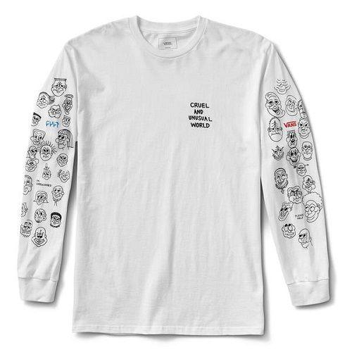 Camiseta Manga Longa Vans x Cult