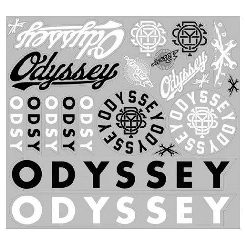 Cartela de Adesivos Odyssey
