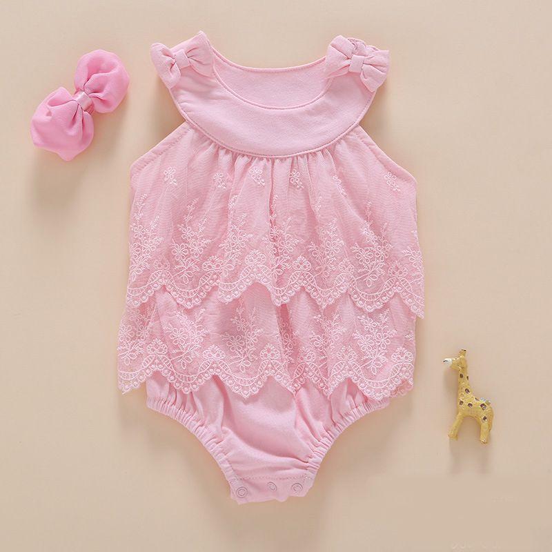 5af572237e Body De Bebê Com Faixa De Cabelo - Lazer e Estilo