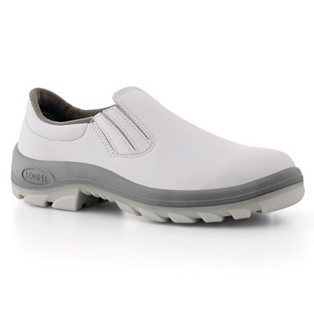 9005-AE Branco/ Sapato/ Elástico/ Sem bico de aço