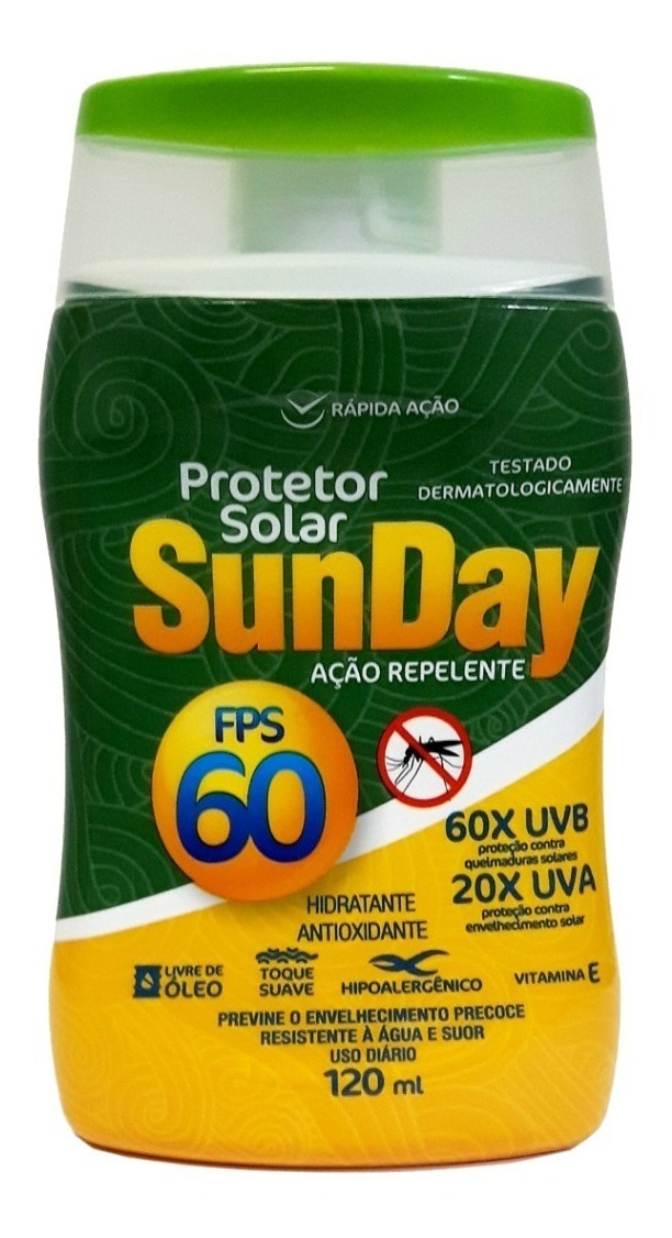 PROTETOR SOLAR FPS 60 C/REPELENTE