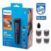 Barbeador Aparador Máquina Barbear Philips Kit 6 Em 1 Mg3711