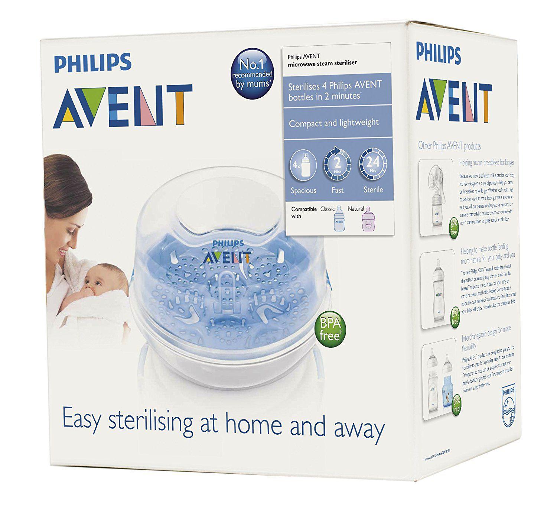 Esterilizador de Mamadeiras e Acessórios Philips Avent