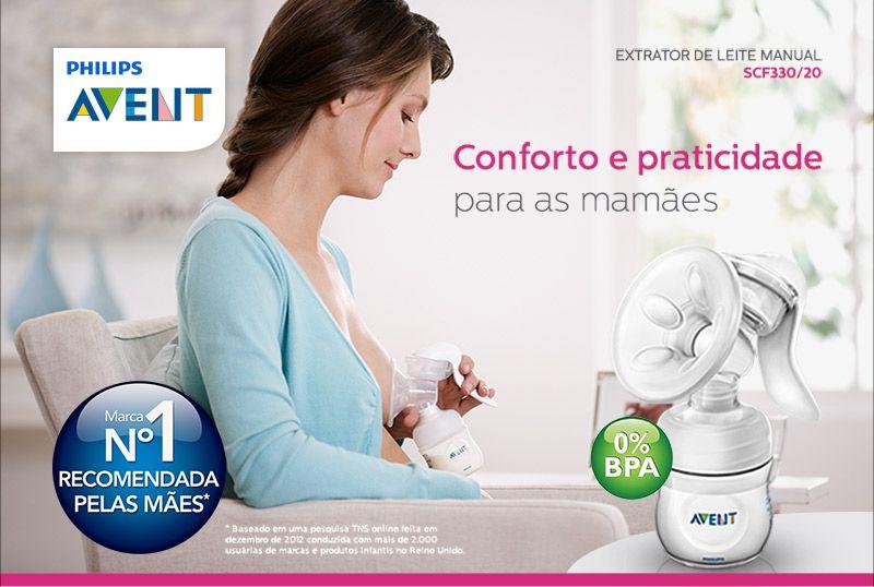 EXTRATOR MANUAL DE LEITE LINHA PETALA/SCF330/20