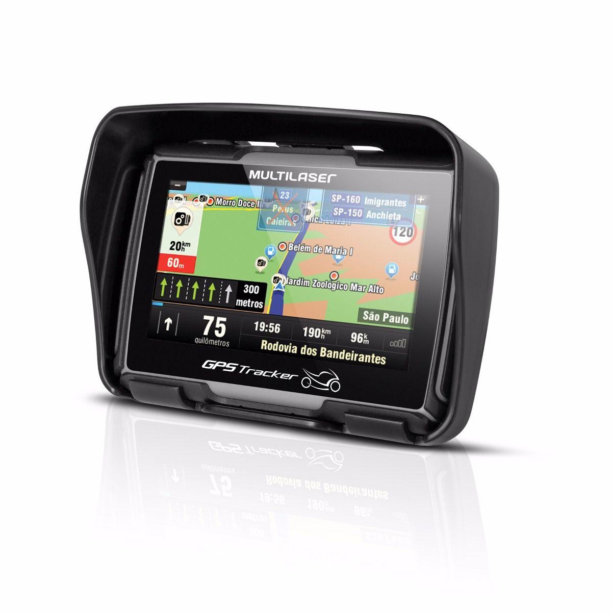 GPS 4,3 P/ MOTO RESIST. A AGUA (05)