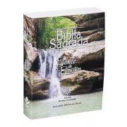 ARC040eFB - Bíblia Sagrada Para Evangelismo - Fonte de Bençãos - Capa Cachoeira