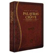 Bíblia de Estudo Palavras-Chave - Luxo Marrom (Clássica)