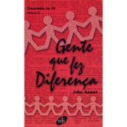 Crescendo na Fé - Gente que Fez Diferença - Vol. 3