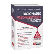 Dicionário Universitário Jurídico - 20ª Edição 2016