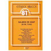 Estudos Bíblicos Vozes - Vol. 81 - Salmos de Asaf (Sl 50; 73-83)