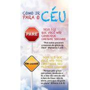 Folheto Como ir Para o Céu (Pacote com 100)