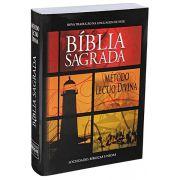 NTLH040ECLD - Bíblia Sagrada Com Método Lectio Divina - Brochura - Farol