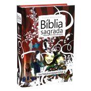 NTLH043BJ - Bíblia Sagrada - Edição Com Notas Para Jovens - Nova Edição - Vermelha