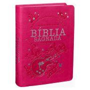 NTLH045LG - Bíblia Sagrada - Letra Grande - Pink Guitarra