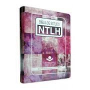 NTLH067E - Bíblia de Estudo NTLH - Média - Feminina Arte