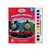 Pintando com Percy